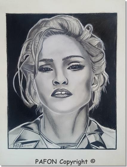 Madonna by Pafon